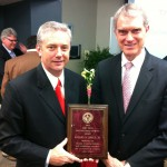 Looser Receives Distinguished Service Award
