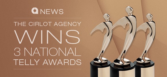 The Cirlot Agency Wins Three National Telly Awards